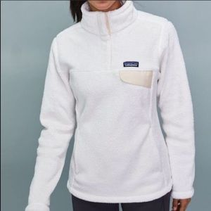 Patagonia | Snap T Re-Tool Fleece Pullover Ivory